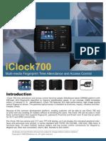 ZK Software iClock 700