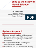 3a. Systems Approach to Politics