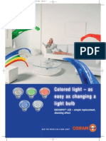 Colors LED Lamp