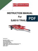 SJ 8510 Trailer Instructions