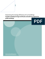 Improving the energy efficiency of our buildings