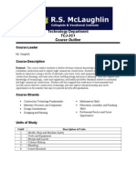 gr11 course outline second semester 2014
