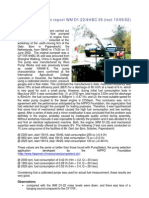 Fuel Consumption Report WM D1-22/4HBC-35 (Test 15/06/02)
