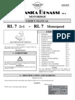 Benassi User's Manual RL7 05-05GB