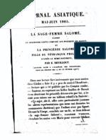 Revillout La Sage Femme Salome