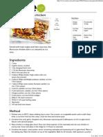 Moroccan-Spiced Chicken Recipe - Tastecom