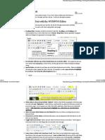 Drupal User Editing Handbook