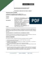Informe 011- 2011- Levantamiento de Observaciones PAT Satipo
