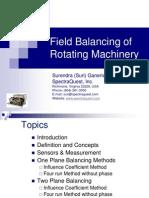 Suri Rotor Balancing