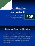 Coordination Chemistry II