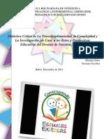 Didáctica Crítica de La Transdiciplinariedad, la Complejidad