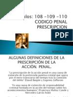 Derecho Penal Prescripcion