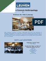 2012 04 25 ForensicAnthropologyLeuven En