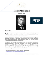 Maeterlinck Maurice Fre 1105
