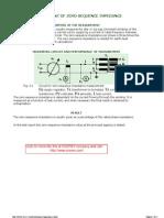 Measurement of Zero-Sequence Impedance