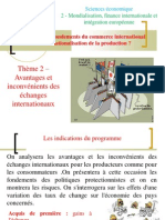 thème 2  - libre-échange et protectionnisme