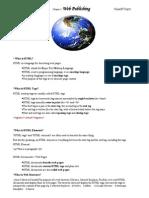 Chapter 1. Web Publishing