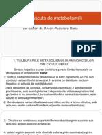 Bolile Inascute de Metabolism I