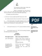 The Sindh Finance Bill 2013