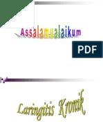 LARINGITIS KRONIK