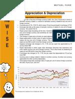 Rupee Appreciation and Depreciation