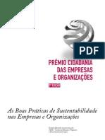 Estudo Premio Cidadania - 2009 PWC e AESE