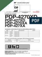 Pioneer Pdp-427 4270 Xa-xd Sm