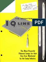 Sylvania Iodine Quartz Lamps Brochure 1960