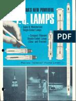 Sylvania Iodine Quartz Lamps Brochure 1964