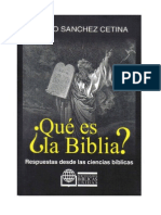 Edesio Sanchez Cetina - Que Es La Biblia