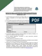 Instructivos para conformación de carpeta proceso de Aspirantes a cadetes 2013-2014