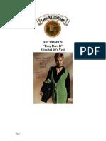 1960's Crochet 'Hippie' Vest