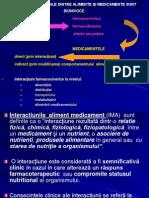 Interactiuni Alimente-Medicamente