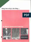 Sylvania Mercury Lamps Industrial Lighting Brochure 1964
