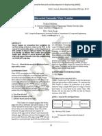 2013020211-Multithreaded Semantic Web Crawler