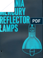 Sylvania Mercury Reflector Lamps Brochure 1963
