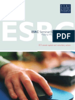 Social Capital and Voluntary Action ESRC 2006
