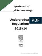 Ug Regulations - 2013-14