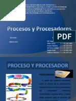 Procesos y Procesadores Sistemas distribuidos