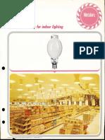Sylvania Metalarc Coated Lamps Bulletin 1968
