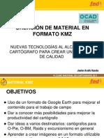 Creacion de Formatos KMZ Para Cartografiar O Maps