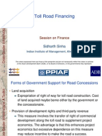 Finance_05 Toll Road Financing - 29 Jan 07