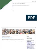 Fika a Dika - Por um Mundo Melhor_ Garrafa de Vidro Decoração