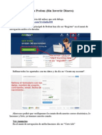 Guía Probux (Sin invertir)