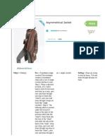 Asymmetrical Jacket _ Yarn _ Free Knitting Patterns _ Crochet Patterns _ Yarnspirations