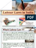 "PPT on ""Labour Laws in India"""