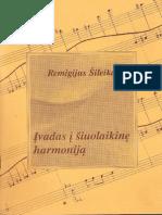 Remigijus Sileika - Ivadas i Siuolaikine Harmonija