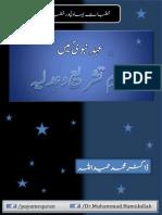 Khutabat e Bahawalpur No.10, Aihad Nabwi Mein Nizam Tashreh Aur Adlia