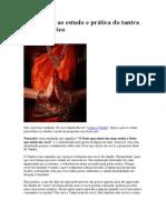 Introdução ao estudo e prática do tantra e sexo tântrico