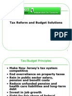 Tax Reform and Budget
